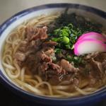 うま亭 - 肉うどん 680円