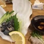 海人居酒屋 源 - シャコ貝刺身