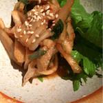花様 - 聖護院かぶらと吉川牛蒡と白菜とミニセロリの浅漬けキムチ