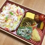 知久屋 - 料理写真:かにちらし弁当〜!