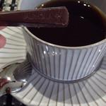 エスパス サチコ - コーヒーと一緒にチョコレートも