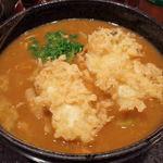 47964028 - 牡蠣天カレー蕎麦