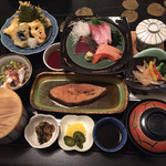 お食事処日本海 - 日本海膳