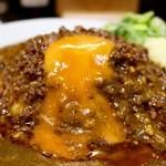 元祖台湾カレー - 卵黄を溶かして♪
