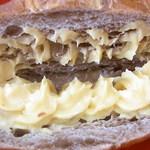 Pao - チョット茶色い生地に2色のクリーム