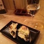 47964818 - 米のささやきと福岡県産牡蠣と明太子のグラタン