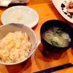 青山たか野 - 2016/02/27(土)。季節の土鍋、たけのこご飯。