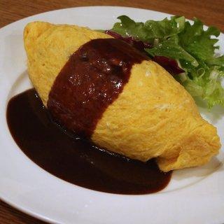 キッチンプラス - 料理写真:オムライス醤油味