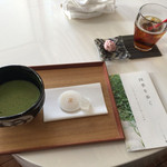 Ribaritoritogaraku - 抹茶やお茶、ビールなんかも選べたウェルカムドリンク