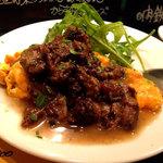 ビババンコ - トスカーナ風牛肉の黒コショウ煮込みソース