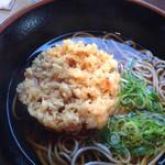 スマル亭 - 料理写真:桜エビかき揚げそば¥550