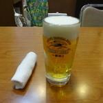 天天 - 生ビール