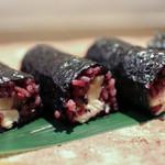 かわ村 - 2016年2月再訪:燻りがっことクリームチーズの細巻き☆