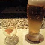4797009 - 生ビールとお通し