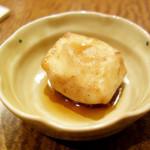 47971148 - サービスの揚げ豆腐!                       d(^_^o)