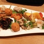 Baruagiyao - 前菜10種盛り合わせ