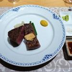 銀座 ひらやま - 黒毛和牛フィレステーキ、サーロイン
