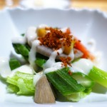 銀座 ひらやま - 季節の野菜サラダ