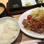 47986012 - 生姜焼き定食