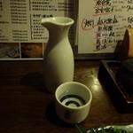 地魚と百日地鶏 大 - ドリンク写真:日本酒