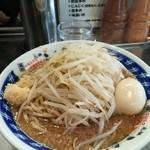 らーめん大 - 料理写真:煮干らーめん+味付卵
