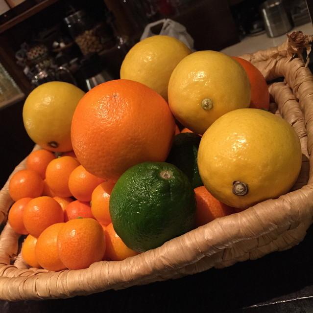 石窯ピッツァとワインのお店 PEPE ROSSO - 宮崎県産の柑橘たち2016年2月
