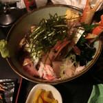 一歩 - 海鮮丼上(1200円)