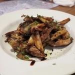 メラコ - キノコとセセリのバルサミコソテー