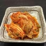 焼肉奉行 きりしま - キムチ(税抜き380円)
