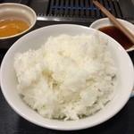 焼肉奉行 きりしま - ライス大(税抜き300円)
