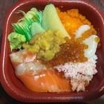網元 丼丸 西田辺店 - 北海丼(500円)