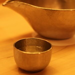 麻布十番 ふくだ - 上質な錫のおちょこ