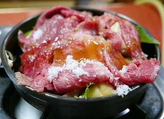 すき焼き キムラ - ロースすき焼き(3300円)