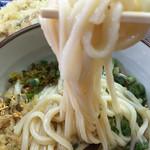 宇野製麺所 - 大は麺量が500g位ありますよ!*\(^o^)/*