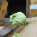 杉養蜂園 - はちみつソフトクリーム 抹茶リフトアップ