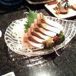 魚浜 - まアジのお刺身