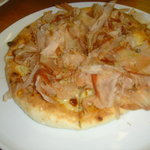 4800217 - 桜えびと鰹節のピザ