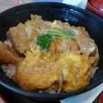 米米麦麦 - 黒豚カツ丼