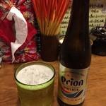 沖縄そば食堂 海辺のそば屋 - オリオンビール