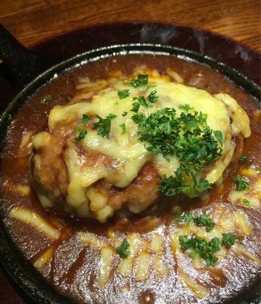 Gyo-Bar 八重洲店 - ポークハンバーグ