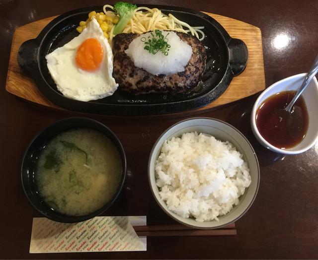 Kaneki-Tei - ハンバーグステーキ 和風おろし 1,000円