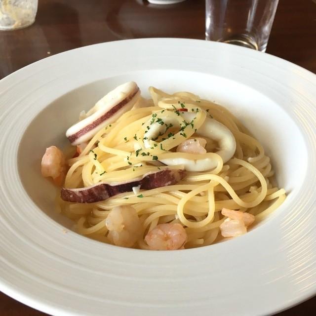 リビアン 盛岡南店 - 魚介のペペロンチーノ