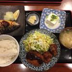 昭和亭食堂 - 昭和亭セット 880円