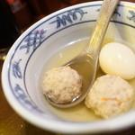 小樽 ニュー三幸 - 玉子、鶏だんご