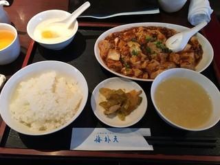 海外天 - 麻婆豆腐定食201601