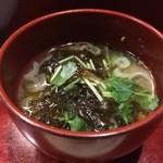 日本橋 寿司金 - お椀