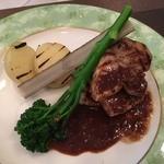 フランス料理  セルジュ&ジェーン - ランチ豚ソテー