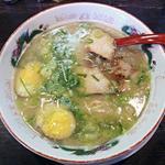 48005946 - 【長浜ラーメン + 煮玉子】¥713 + ¥108