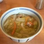48007917 - あんかけ炒飯風ミニ中華丼(250円)