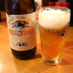 めんつるび - 瓶ビール